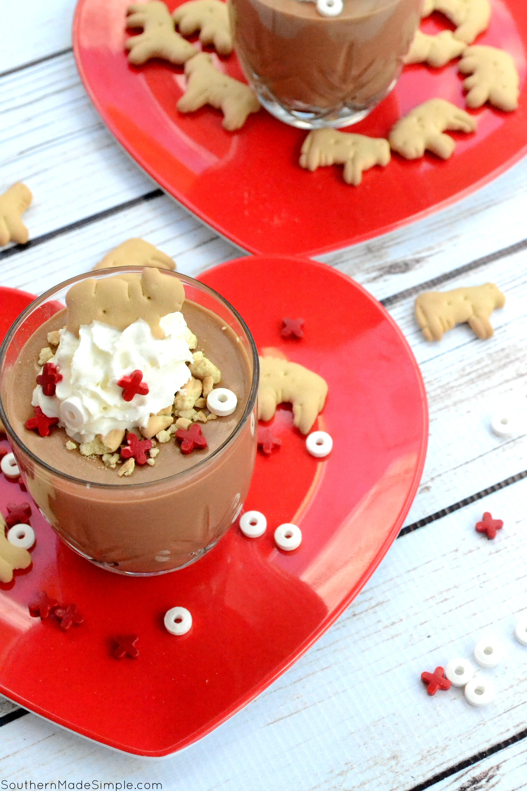 """Wild Thing"" Valentine's Day Chocolate Mousse"