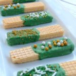 St. Patrick's Day Sugar Wafers