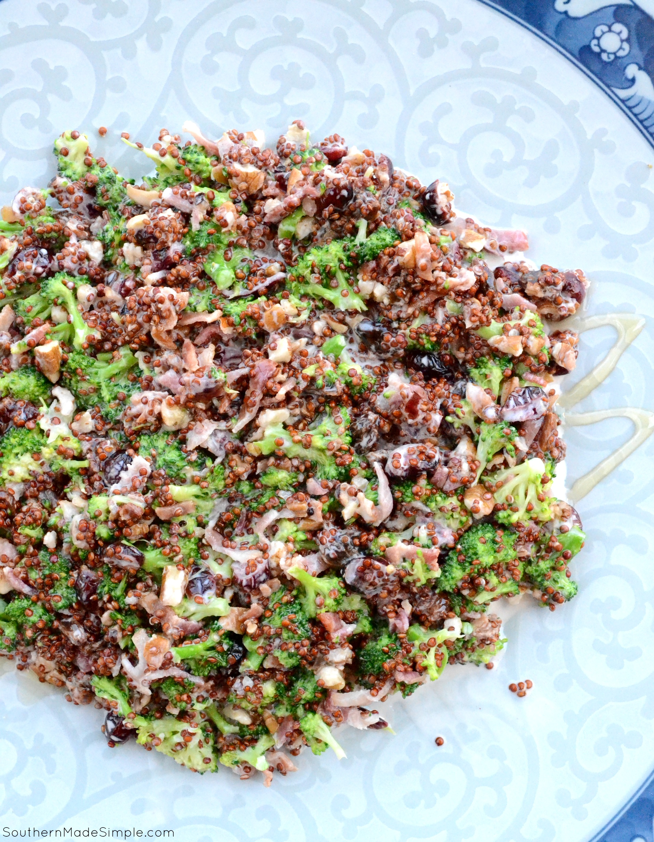 Broccoli, Bacon and Quinoa Salad
