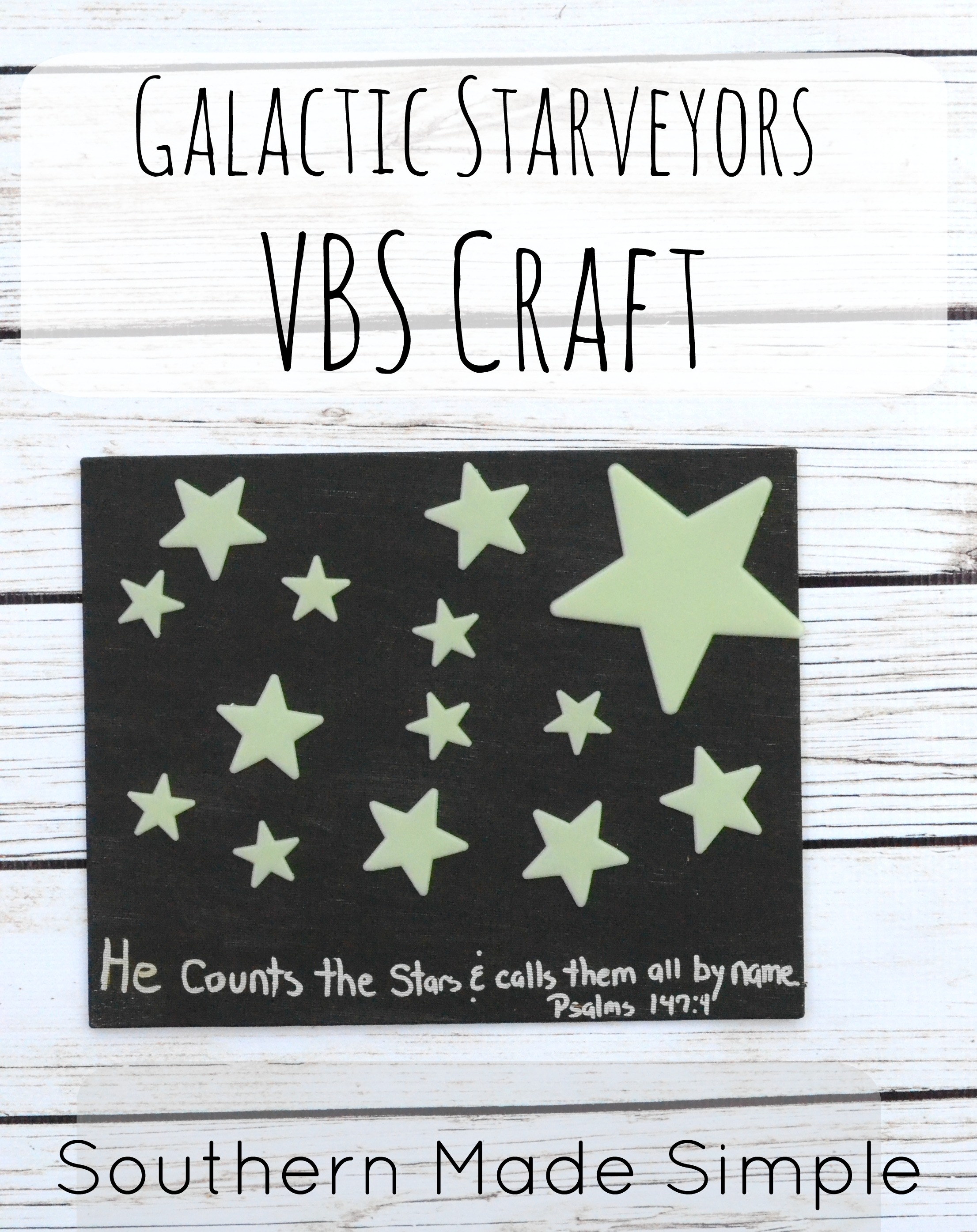 Easy Galactic Starveyors Craft Idea