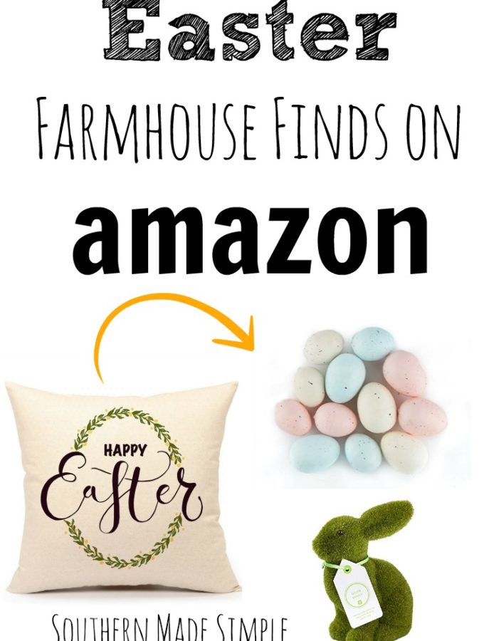 Easter Farmhouse Finds on Amazon