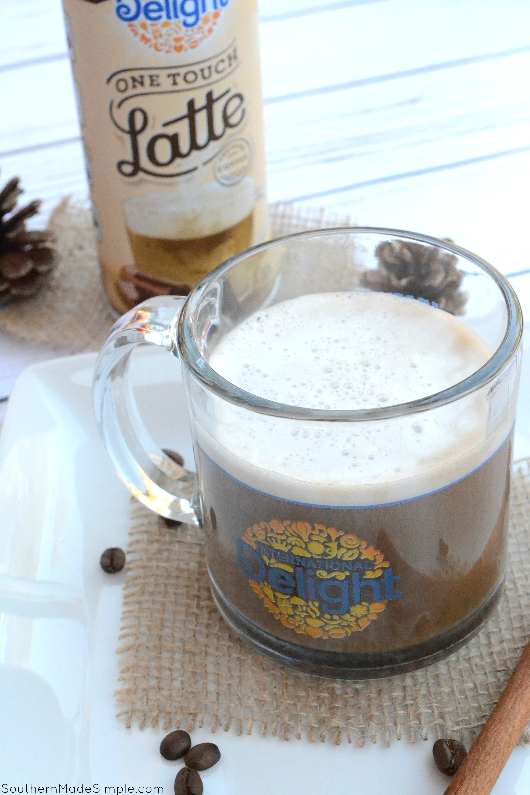 If you love to get your hands on a tall warm latte but can't afford to pay those crazy coffee shop prices? Now you can make a latte at home in seconds with International Delight One Tough Latte! #LatteMadeEasy @Walmart