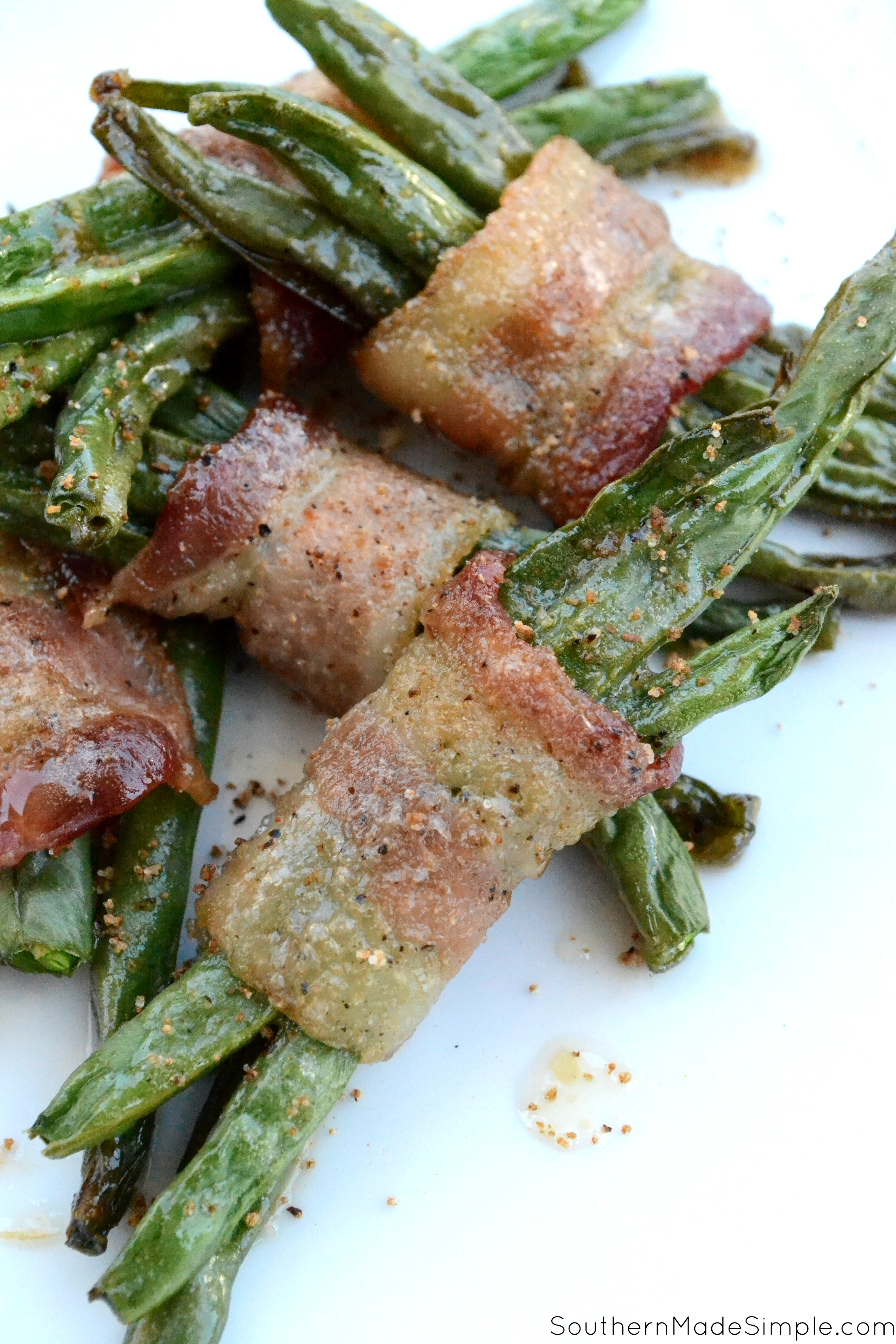Brown Sugar Bacon Green Bean Bundles