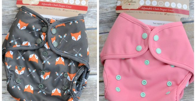 Buttons Diapers has BIG News! Super Cover Review