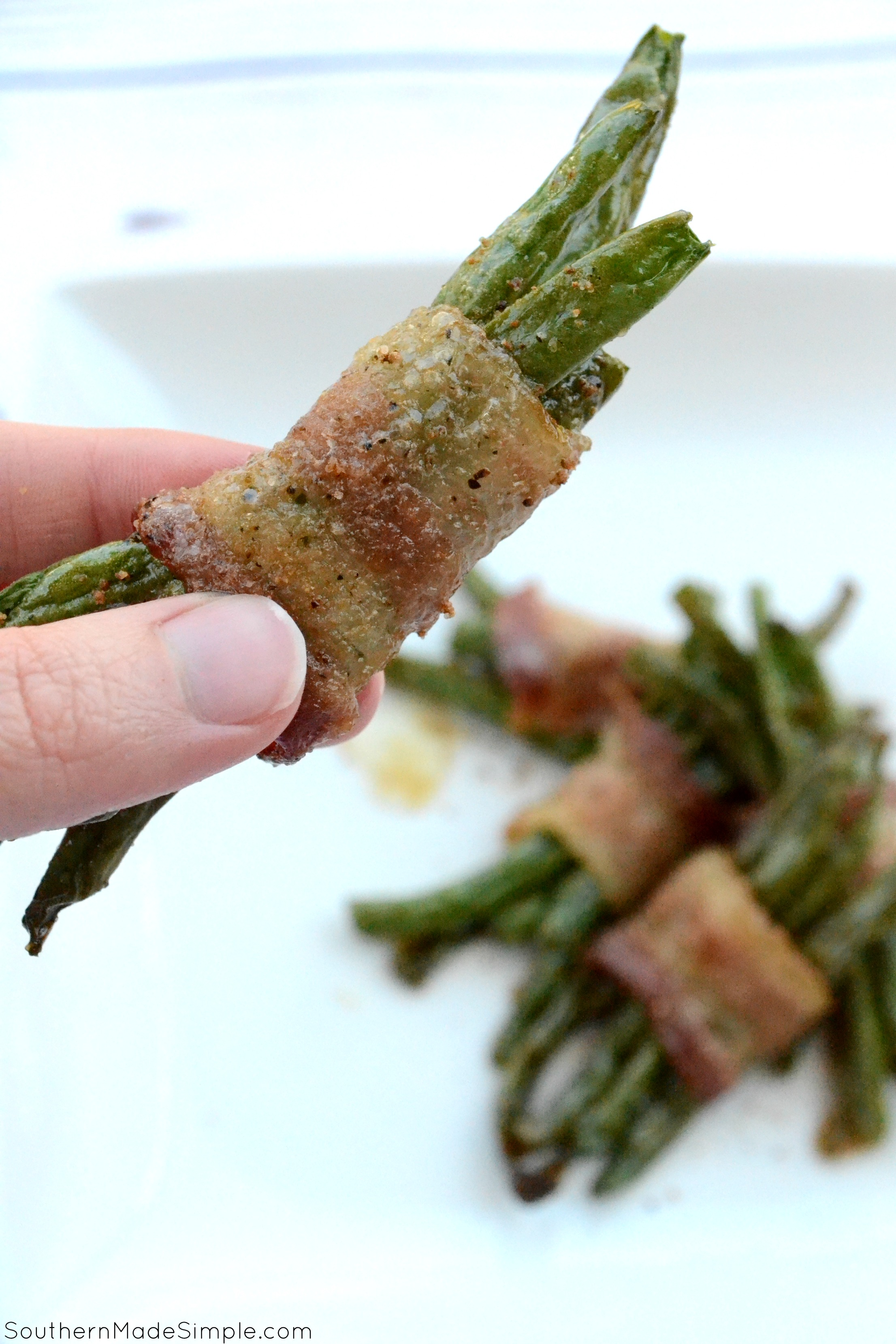 Brown Sugar & Bacon Green Bean Bundles