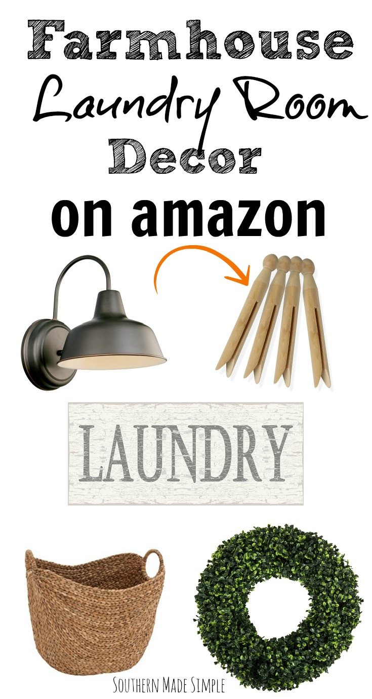 Farmhouse Laundry Room Decor On Amazon Southern Made Simple