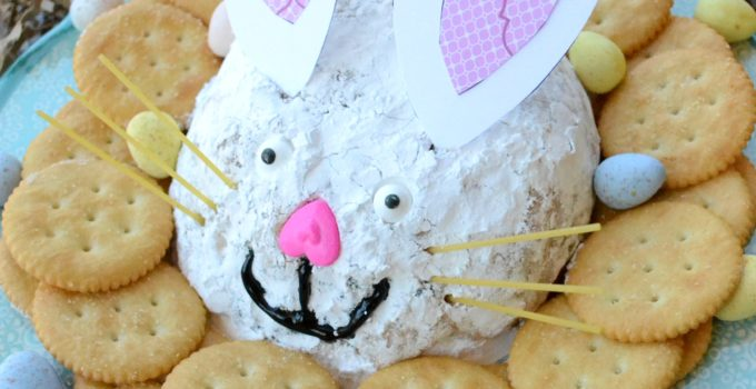Easter Bunny Peanut Butter Cheese Ball