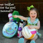 Is your toddler ready for the pool this summer? Swimways Baby Spring Float Review #Swimways #IC #ad