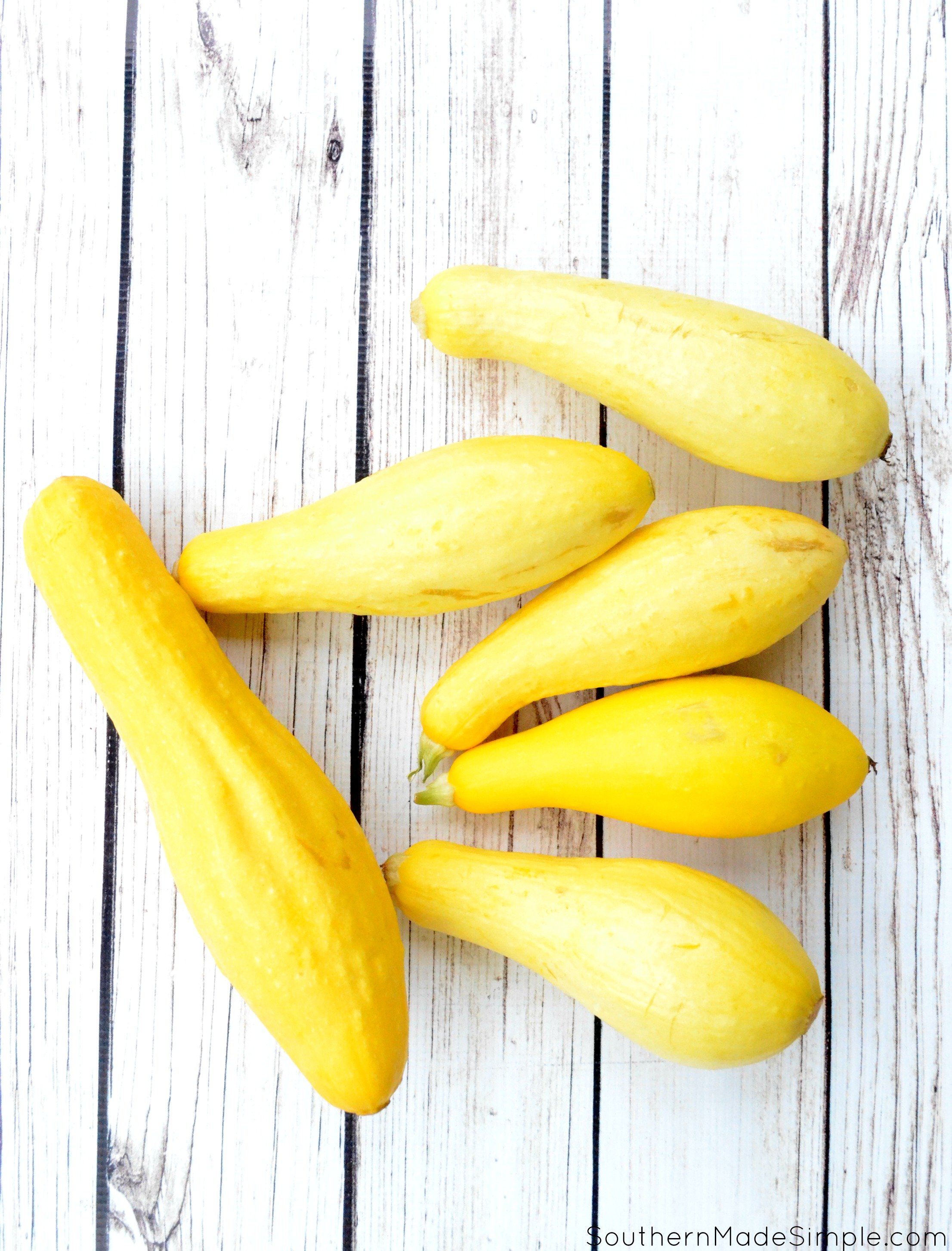 How To Freeze Yellow Squash