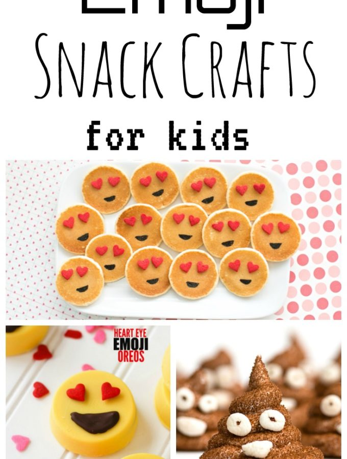 Emoji Snack Crafts for Kids