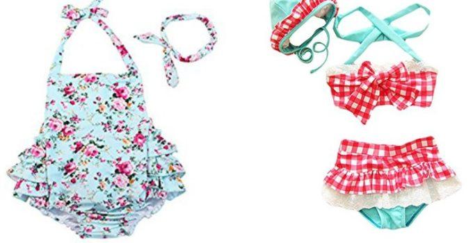 Toddler Girl Swimsuits under $20 on Amazon