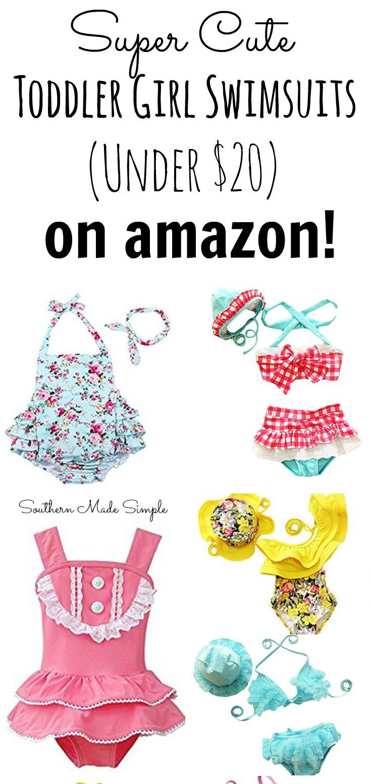 Toddler Girl Swimsuits Amazon