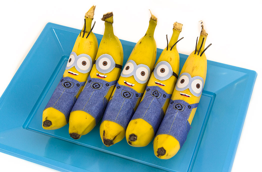 Despicable Me Inspired Minion Snack Crafts for Kids
