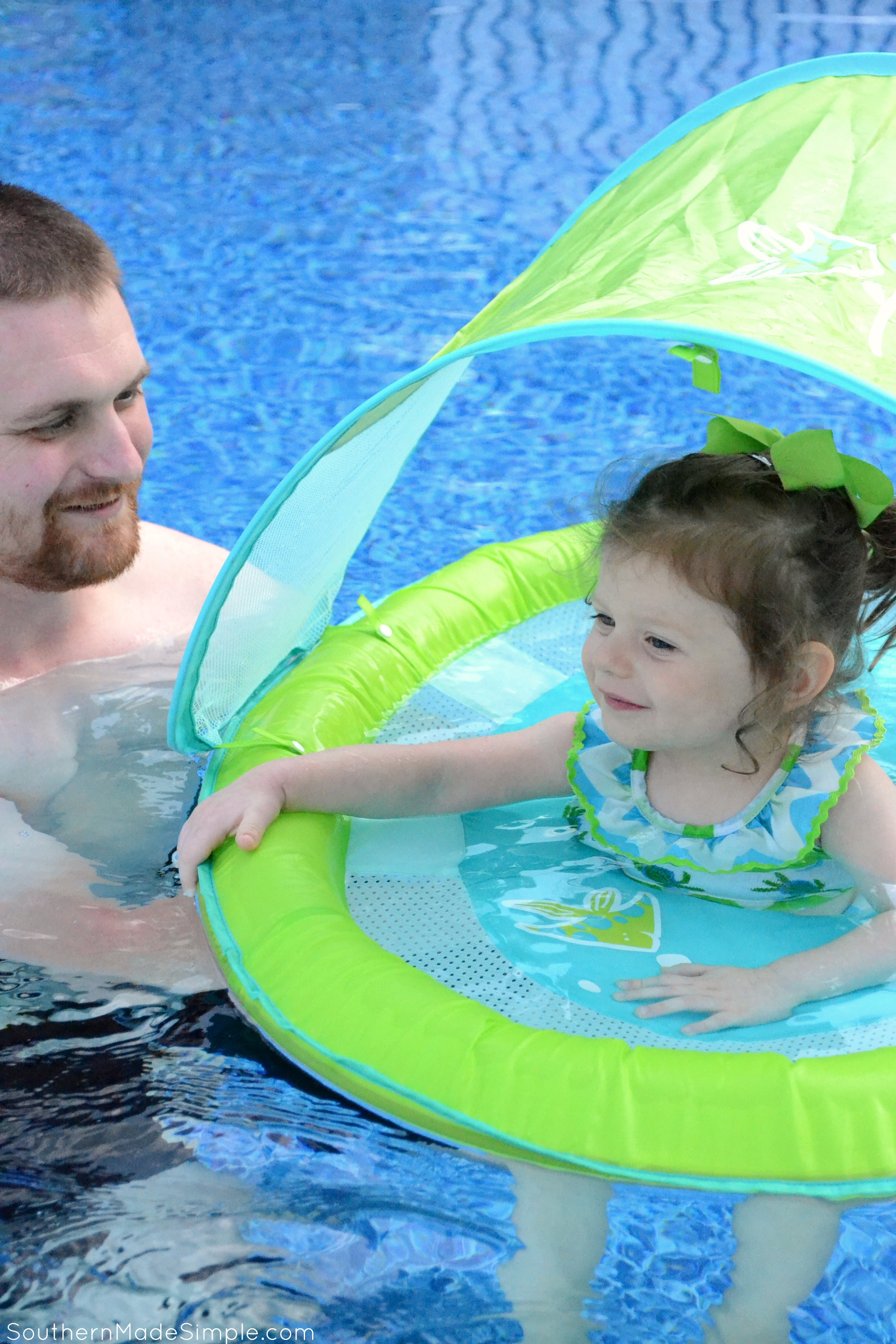 Our Must Have Pool Accessory This Summer #SwimWays #IC #ad