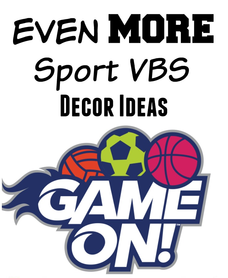 Sports Craft Ideas for Kids: Game On VBS - Southern Made Simple