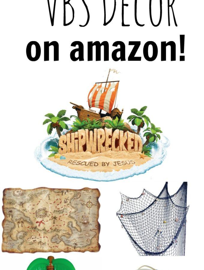 Shipwrecked VBS Decor Ideas on Amazon