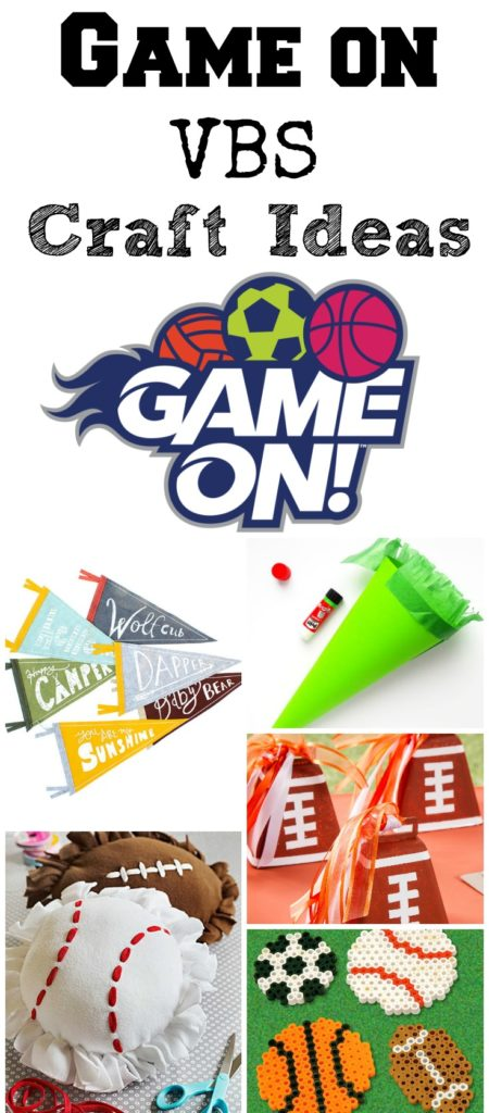 Sports Craft Ideas For Kids On Vbs