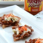 Looking for that perfect summer dish to serve during your backyard BBQ festivities? These Buffalo BBQ and Baked Bean Bacon cups pack a punch of heat you won't be able to resist, plus there super fun to eat! #RedHotSummer #IPTSOE #ad