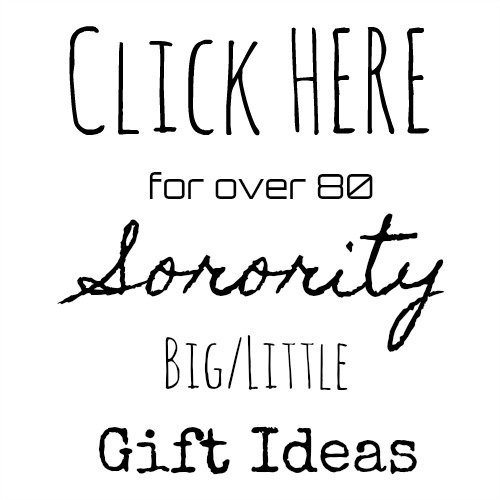 Sorority Big Little Gift Ideas