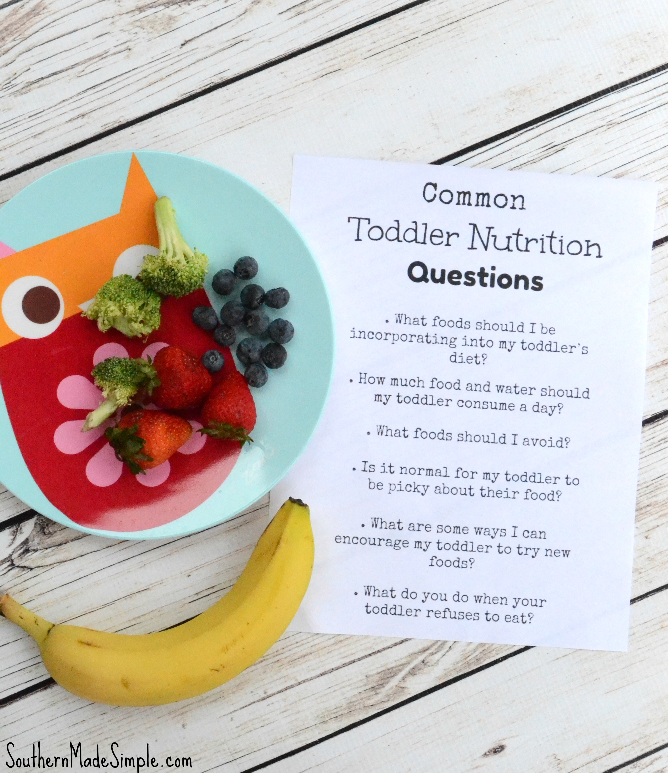 How to get my picky toddler to actually eat? Plus other common toddler nutrition questions answered