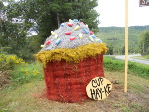 Painted Hay Bale Art Ideas