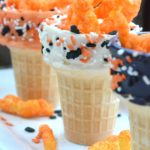 Halloween Ice Cream Cone Snack Cups