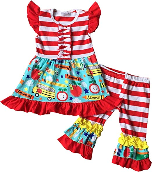 1st Day of School Outfits for Little Girls