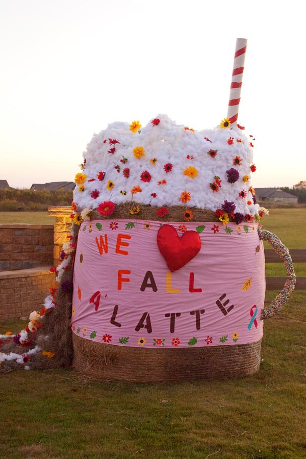 Painted Hay Bale Art Ideas