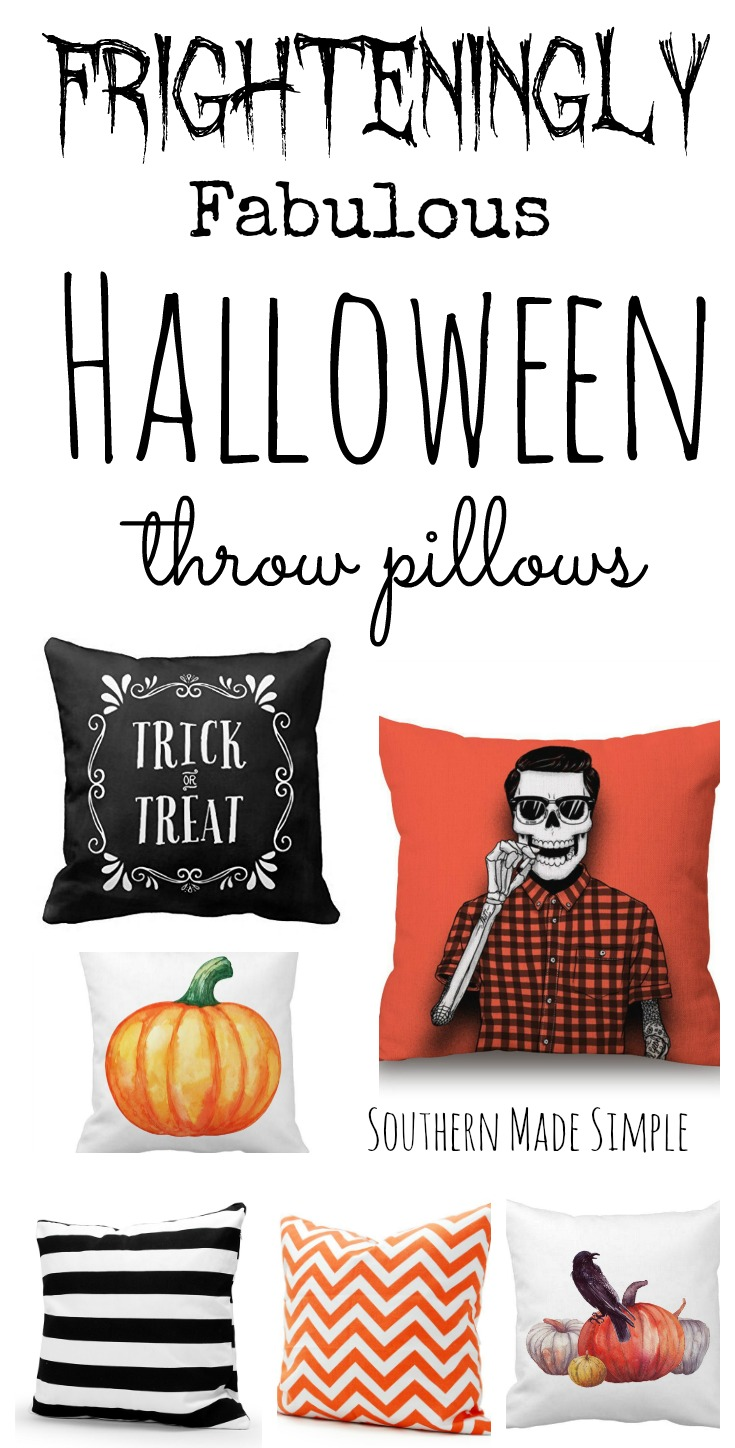 frighteningly fab halloween pillow covers on amazon! - southern made