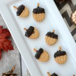 Easy Fall Acorn Cookies