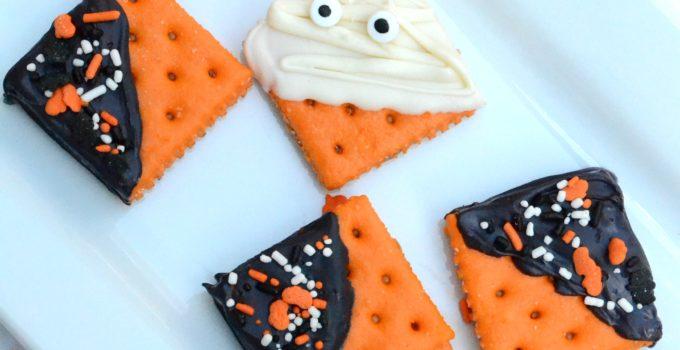 5 Minute Sweet & Salty Halloween Cookies