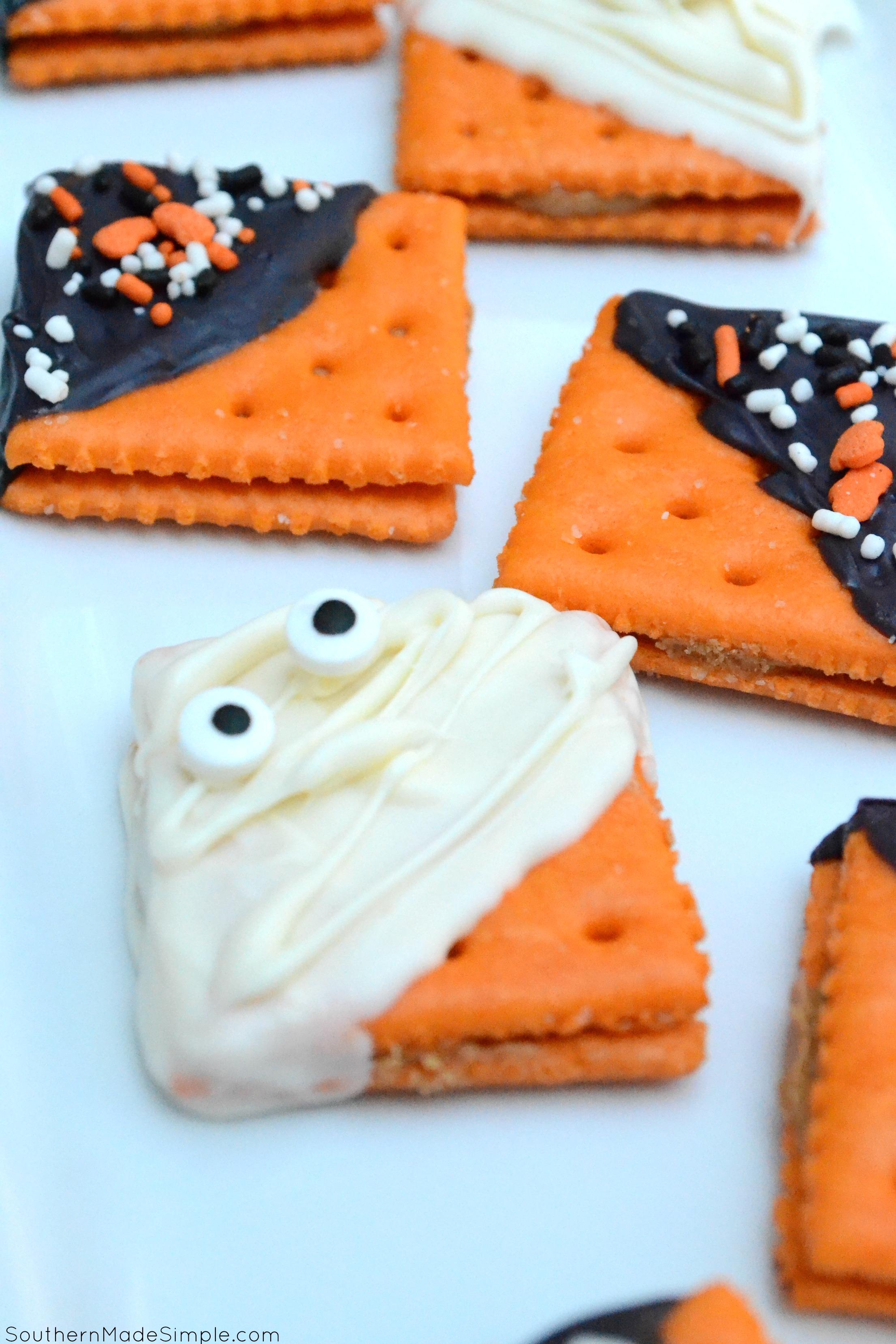 5 Minute Halloween Cookies