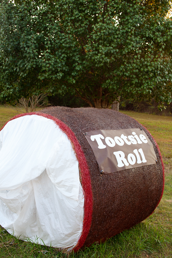 Painted Hay Bale Ideas