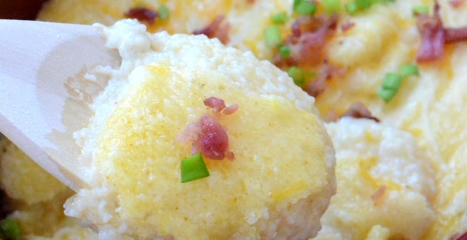 Southern Baked Cheese Grits
