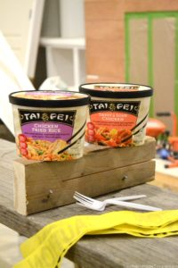 During the busiest and most challenging season of our lives, I'm seeking our a few simple ways to spend time with my spouse and reconnect during the work week when life takes us in two different places. One of those ways is sharing a delicious and convenient meal, and Tai Pei single serve entrees are our fave! #AD # IC #taipeifrozenfood