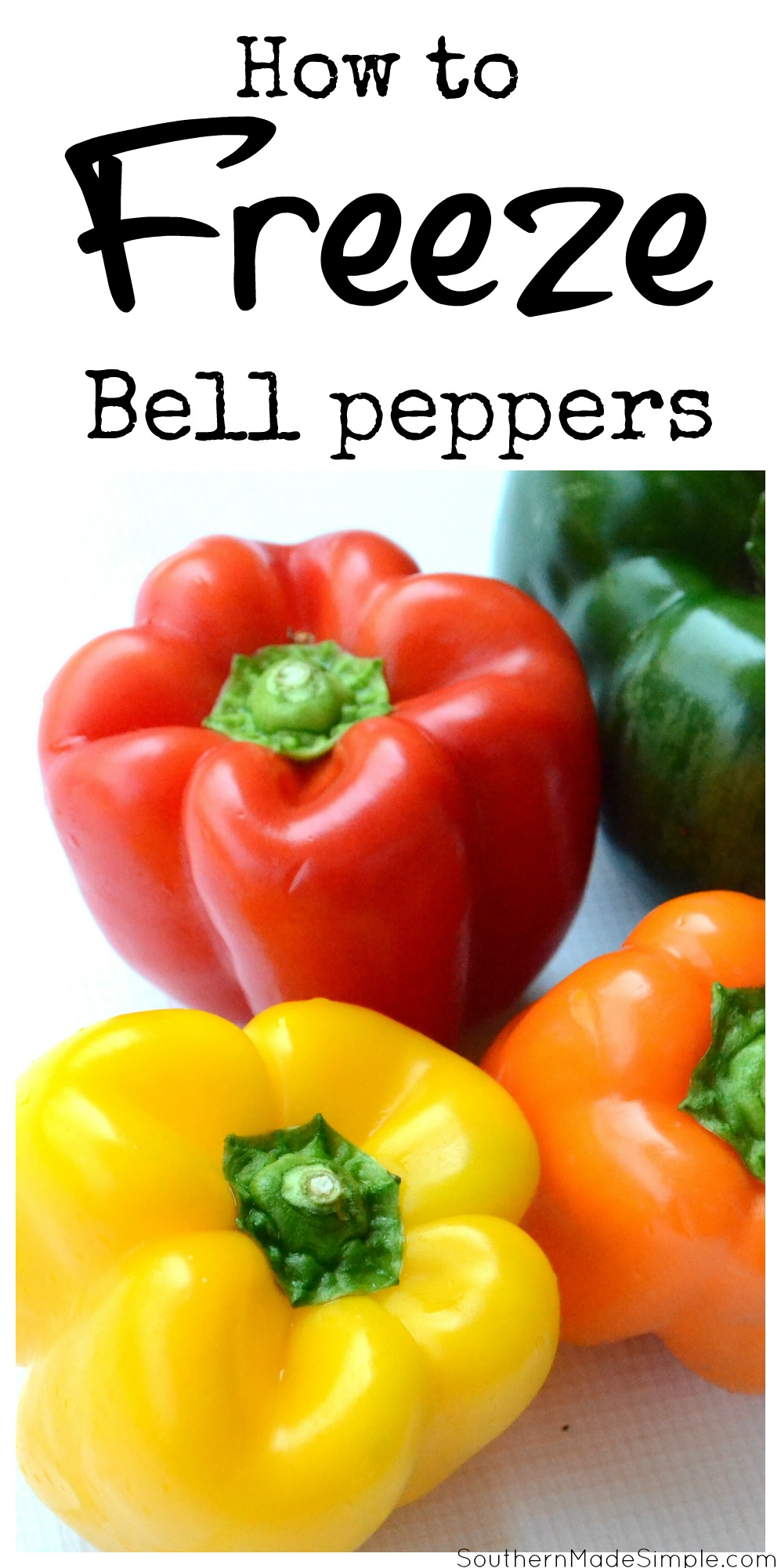How to Freeze Bell Peppers