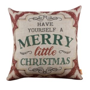 Shabby Chic Christmas Pillows : Farmhouse Christmas Throw Pillows on a Budget - Southern Made Simple