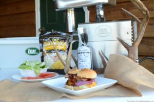 Four Reasons Why our Field to Table Philosophy Changed our Lives for the Better + BBQ Bacon Venison Burger Recipe! #LEMLoveToProcess #Ad