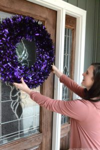 See how we're breaking in our brand new home with glam Halloween decor found exclusively at Lowes! #ad #LowesFallDecor #IC