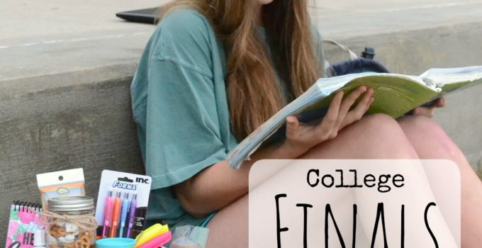 DIY College Finals Survival Kit + GIVEAWAY!