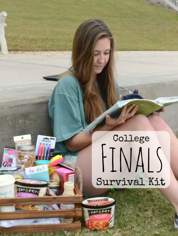 College Finals are a very stressful and busy time for young adults, and the pressure is on to perform their very best. Take some of the burden off of their shoulders by making a College Finals Survival kit filled with good eats and treats to help them get through it! #TaiPeiFrozenFood #IC #ad #friedrice