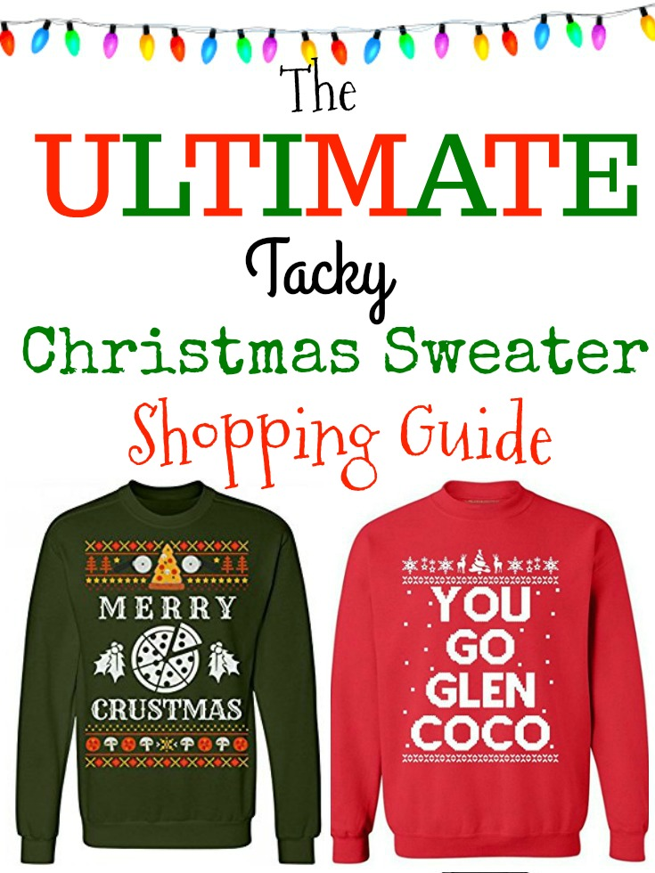 Ugly Christmas Sweaters on Amazon