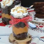 Need a delicious pick-me-up to help you get through the busy holiday season? These coffee infused caramel brownie trifles are the perfect treat to satisfy your sweet tooth!