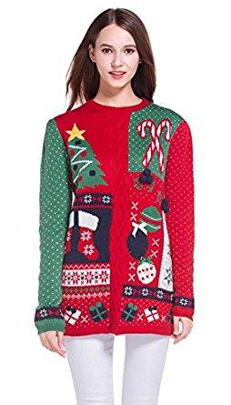 Ugly Christmas Sweaters on Amazon