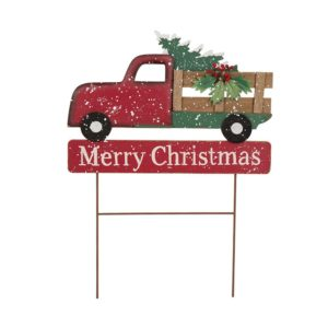 red truck christmas decor - Red Truck Christmas Decor