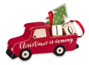 red truck christmas decor - Christmas Truck Decor