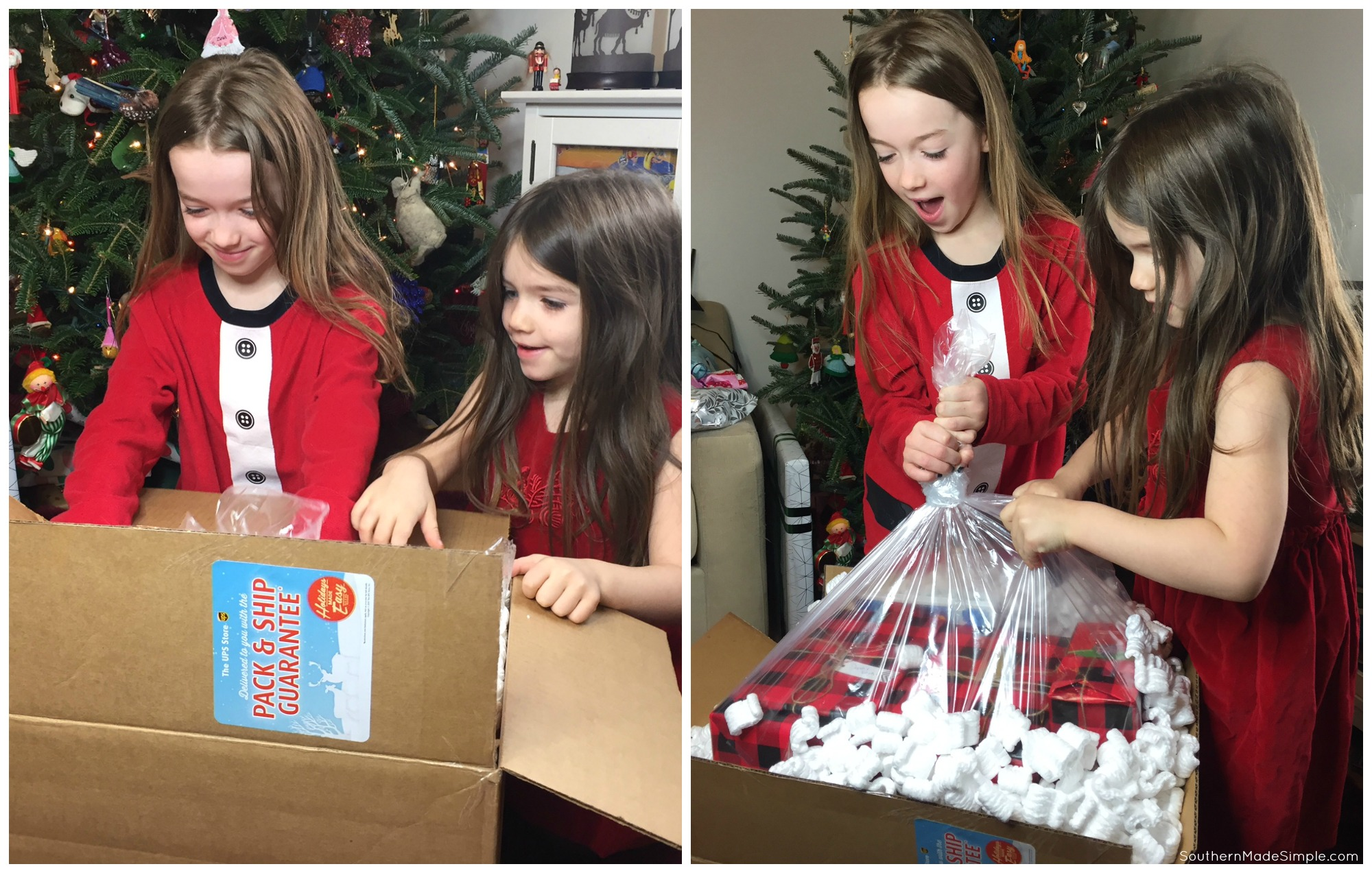 Continuing Holiday Traditions When Family is Far Away #HolidaysMadeEasy #TheUPSStore #ad