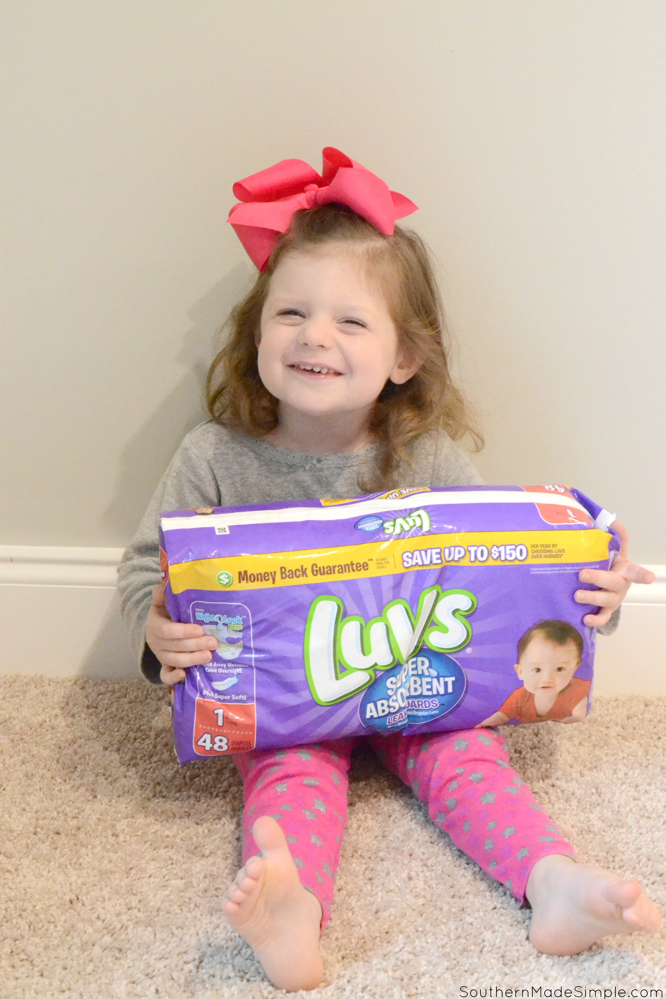 2nd time Moms don't necessarily trust something just because it costs more, and when it comes to finding the best disposable at the best price to get the job done, I choose Luvs! #MoreToLuv #ad