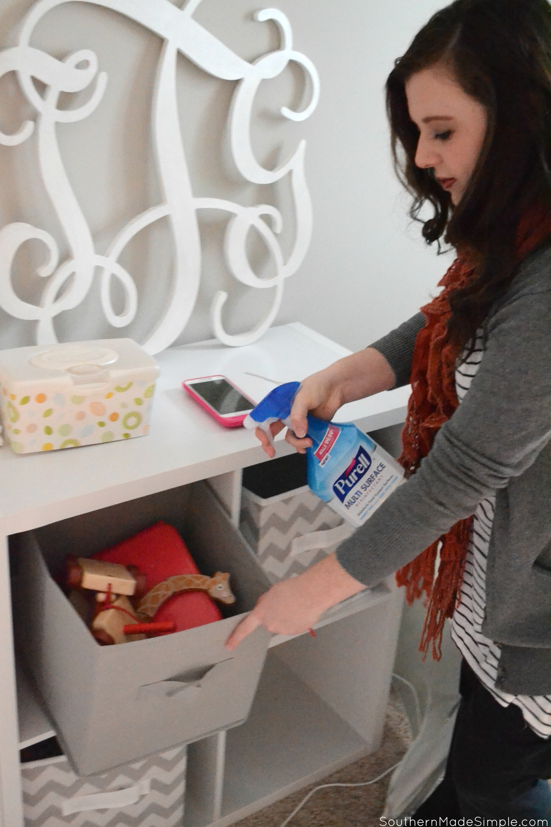 How We're Keeping Germs at Bay During the Holidays #PURELLSurface #IC #ad