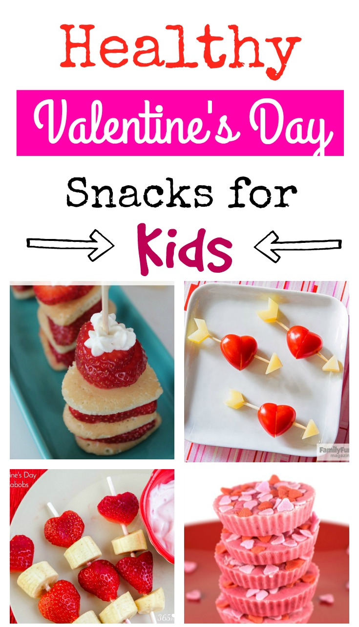 Healthy Valentine's Day Snacks for Kids